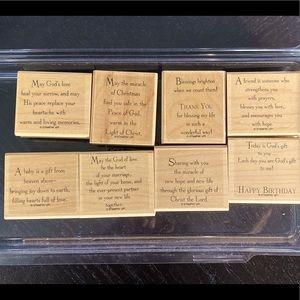 Stampin Up 'God's Blessings' stamp set